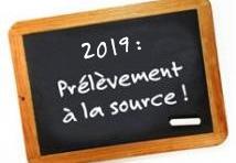 Prélèvement à la source 2019